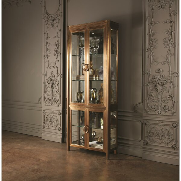 Apothecary Vitrine Curio Cabinet by Global Views