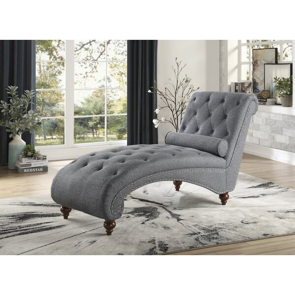 Nickles Chaise Lounge By Canora Grey