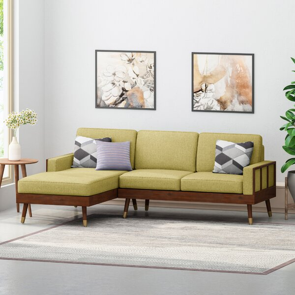 Discount Caples Fabric Left Hand Facing Sectional