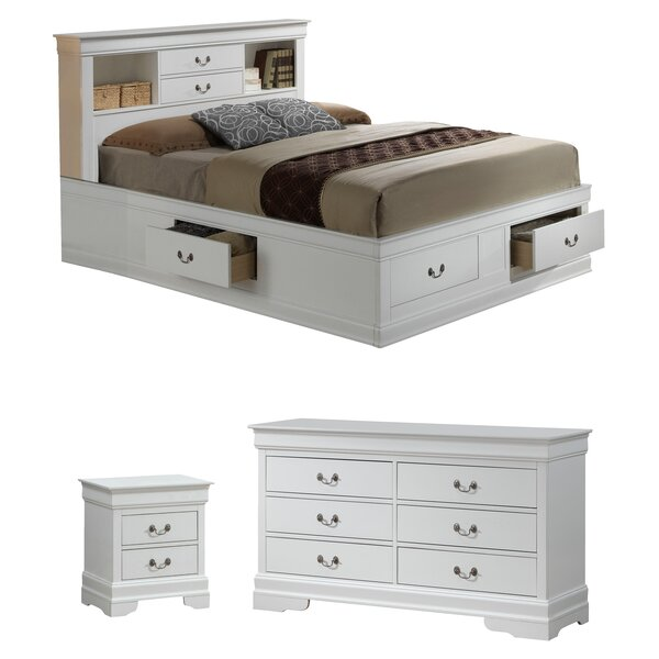 Lisle Storage Platform Configurable Bedroom Set by