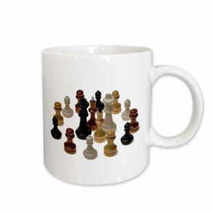 Chess Kings Queens S Coffee Mug