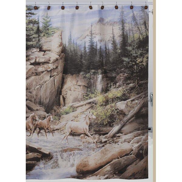 Pennock Horse Shower Curtain by Loon Peak