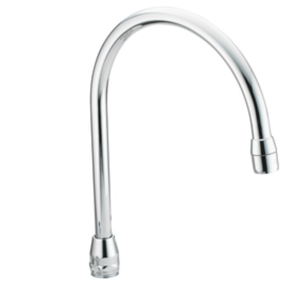 M-Dura 8 Reach Gooseneck Spout by Moen