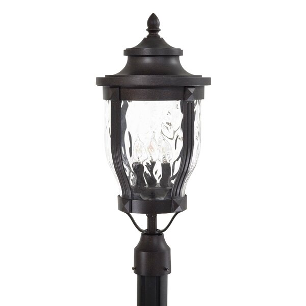 Porterfield Outdoor 3-Light Lantern Head by Three Posts