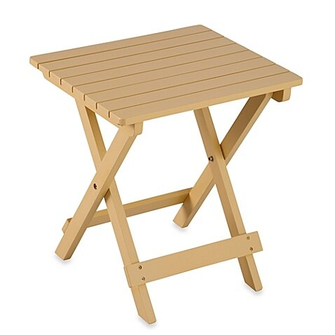 Hedison Adirondack Folding Table by August Grove