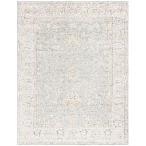 Brune Hand Tufted Light Blue Area Rug by One Allium Way
