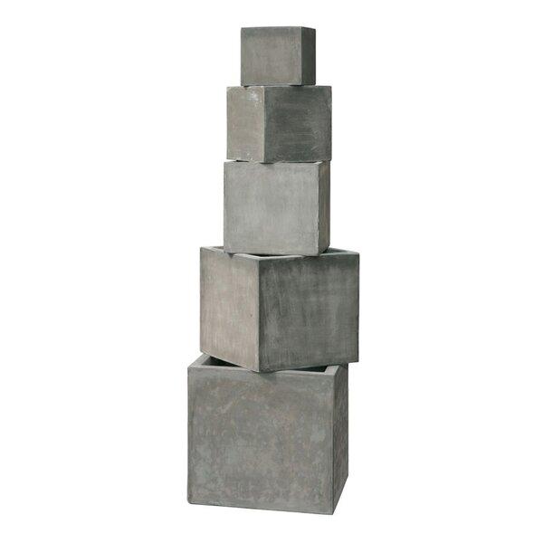 Midwood 5-Piece FiberClay Planter Box Set by Brayden Studio