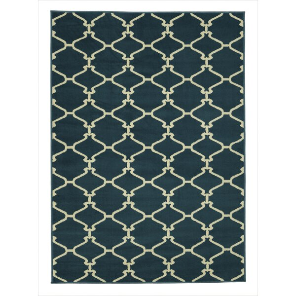 Clifton Blue Area Rug by sweet home stores