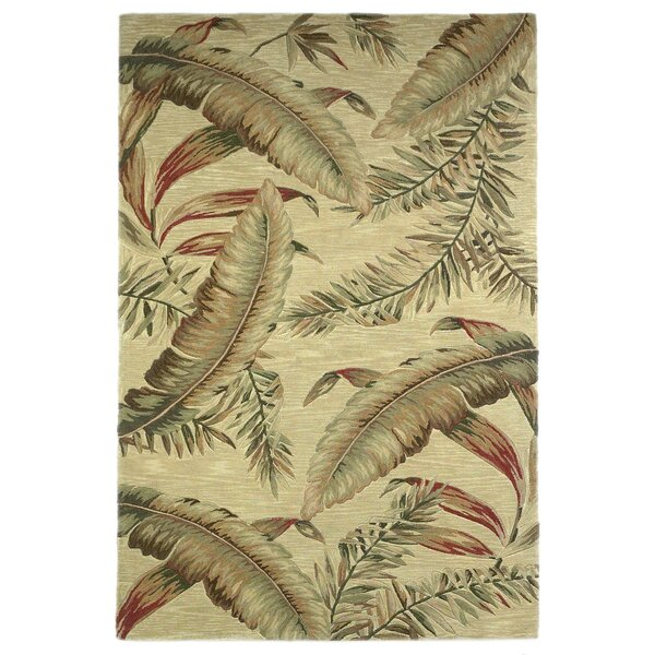 Murray Ivory Ferns Area Rug by Bay Isle Home