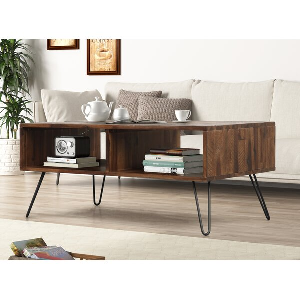 Garson Coffee Table With Storage By Union Rustic