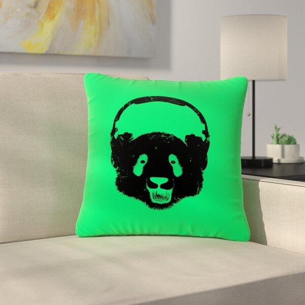 BarmalisiRTB Panda Outdoor Throw Pillow by East Urban Home
