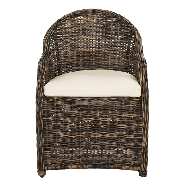 Darwin Patio Chair with Cushion by Bungalow Rose