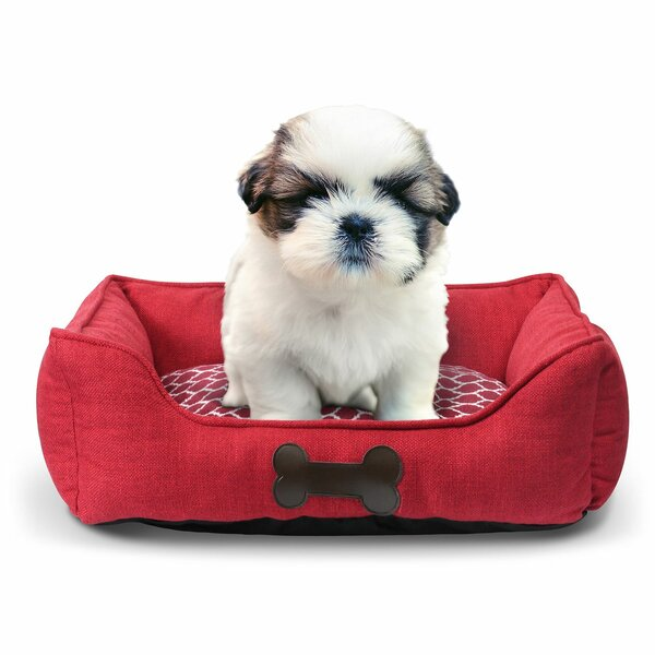 Duboce Pet Bed Premium Bedding Bolster with Inner Cushion by Tucker Murphy Pet