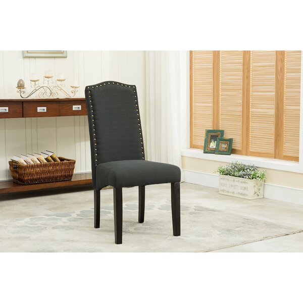Bowdon Upholstered Dining Chair (Set of 2) by Charlton Home