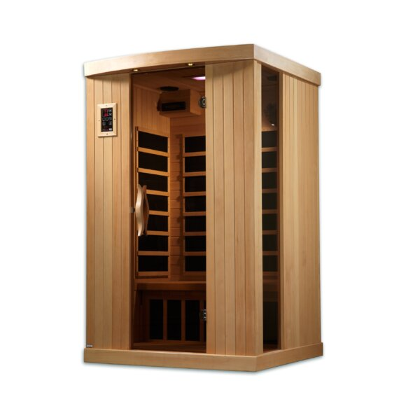 Puretech Low EMF 2 Person FAR Infrared Sauna by Dynamic Infrared