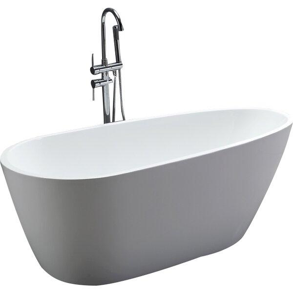 67 x 31.5 Soaking Bathtub by Legion Furniture
