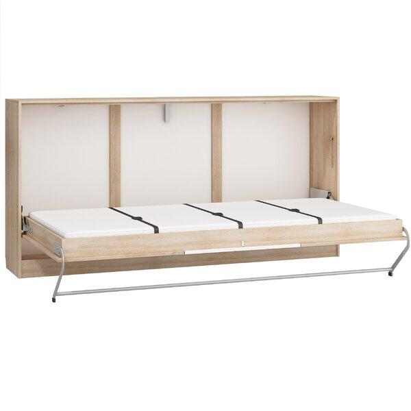 Ciel Murphy Bed with Mattress by Latitude Run Latitude Run