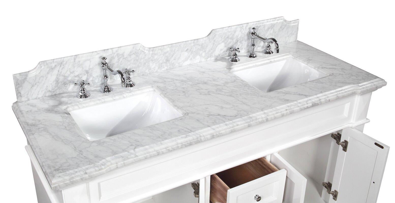 Elizabeth 60 Quot Double Bathroom Vanity Set Amp Reviews Joss
