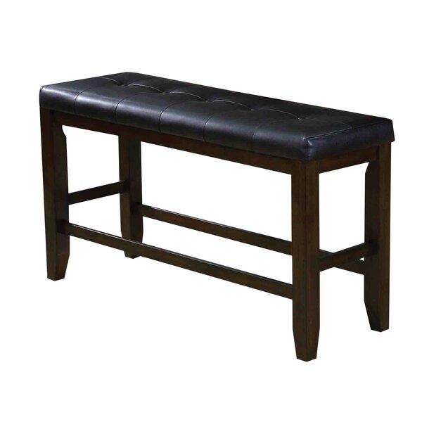 Stanley Upholstered Bench by Alcott Hill