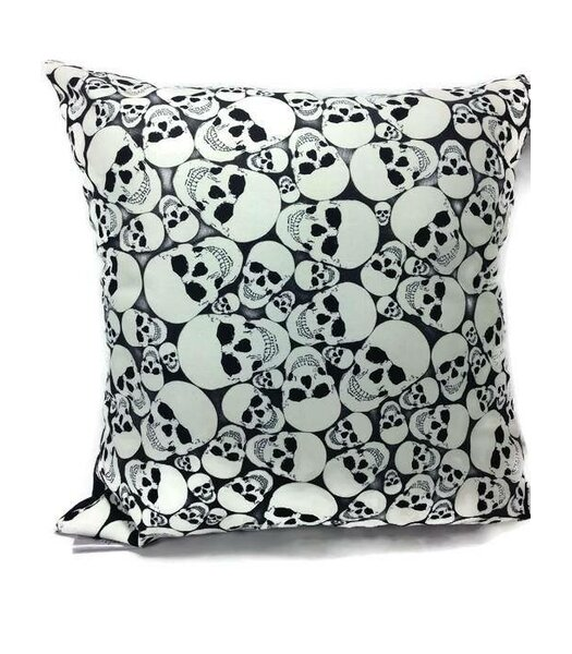 Glow in the Dark Throw Pillow by East Urban Home