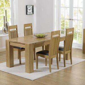 Essgruppe Barrow mit 4 Stühlen von Home Etc