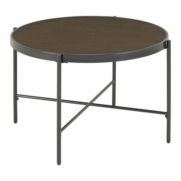 Carlo Cross Legs Coffee Table By Latitude Run