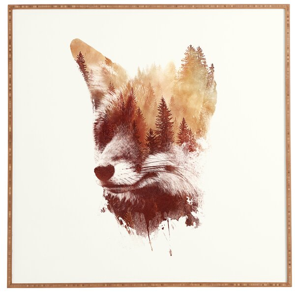 Blind Fox Framed Photographic Print by Loon Peak