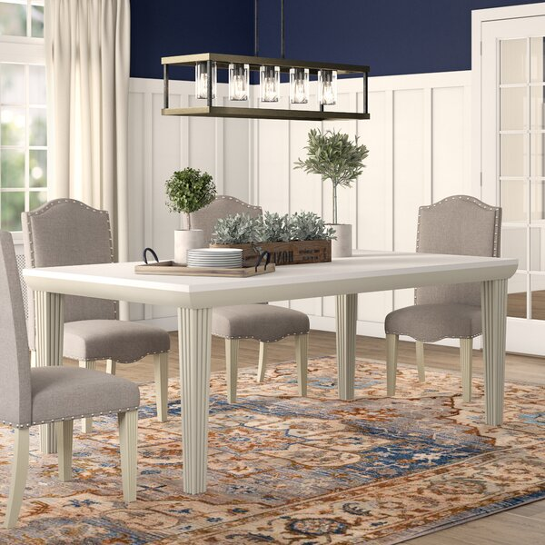 Calila Extendable Dining Table by Canora Grey Canora Grey