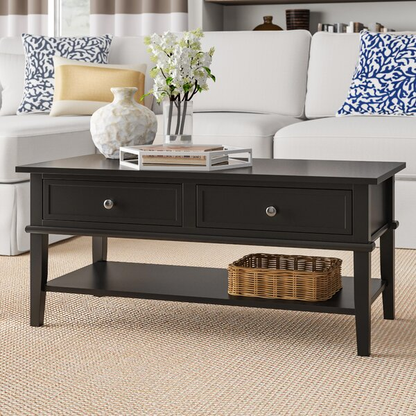 Dmitry Coffee Table with Storage by Beachcrest Home Beachcrest Home