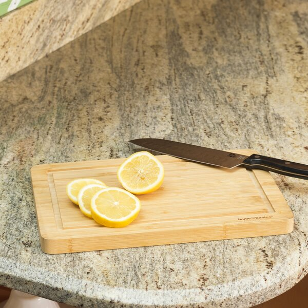 Bamboo Cutting Board by Home Basics