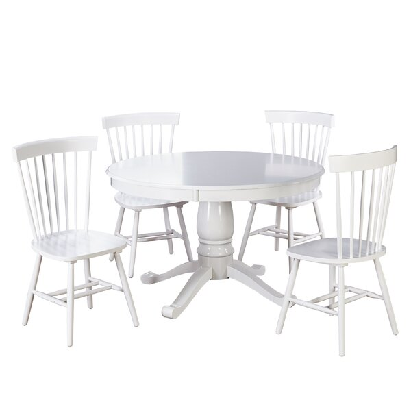 Roudebush 5 Piece Dining Set By Beachcrest Home