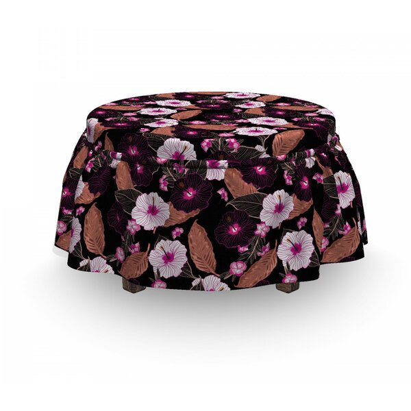 Box Cushion Ottoman Slipcover By East Urban Home