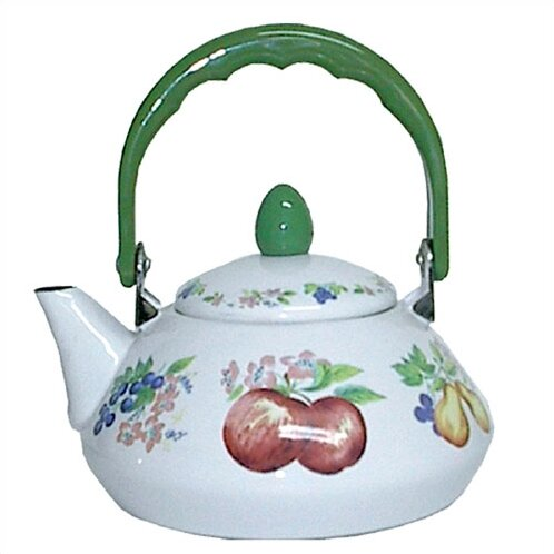 Impressions Chutney 1.2 Qt. Personal Tea Kettle by Corelle
