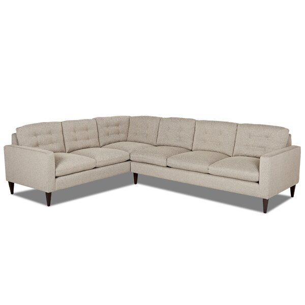 Florence L Sectional by Wayfair Custom Upholstery™