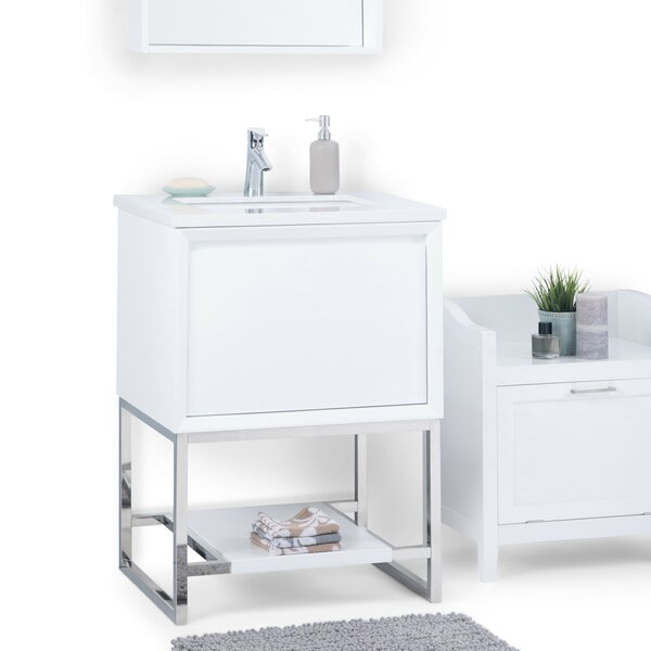 Hardy 25 Single Bathroom Vanity by Simpli Home