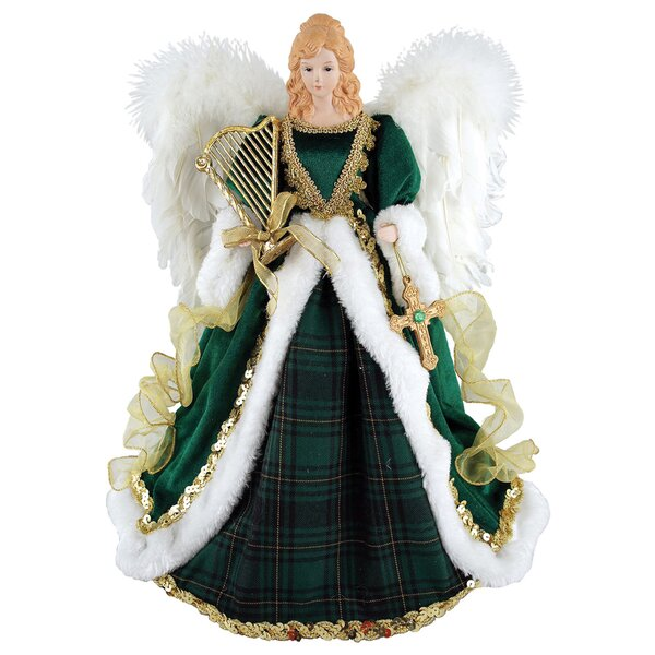 Irish Angel Tree Topper by August Grove