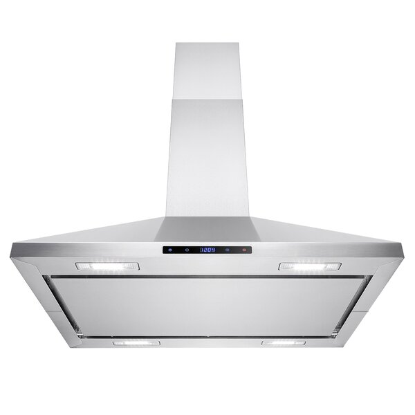 36 343 CFM Convertible Island Mount Range Hood by