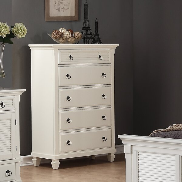 Stratford 5 Drawer Chest by Highland Dunes