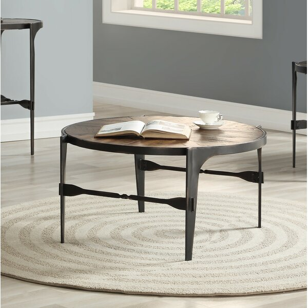Eamon Coffee Table by 17 Stories