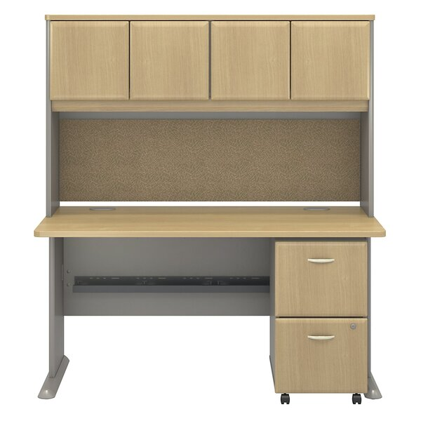 Series A Desk with Hutch by Bush Business Furniture