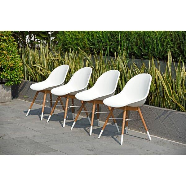 Woolford Patio Side Chair (Set of 4) by Corrigan Studio