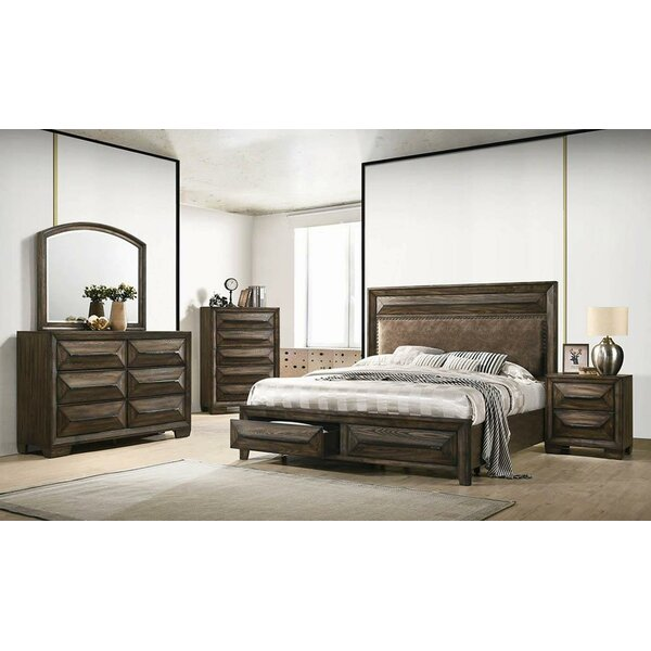 Winegar Platform Solid Wood Configurable Bedroom Set by Foundry Select