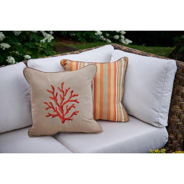 Embroidery Throw Pillow by Peak Season Inc.