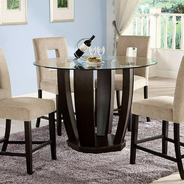 Seger Counter Height Dining Table by World Menagerie
