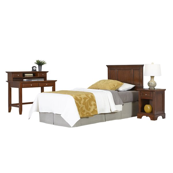Chesapeake Panel 4 Piece Bedroom Set by Home Styles