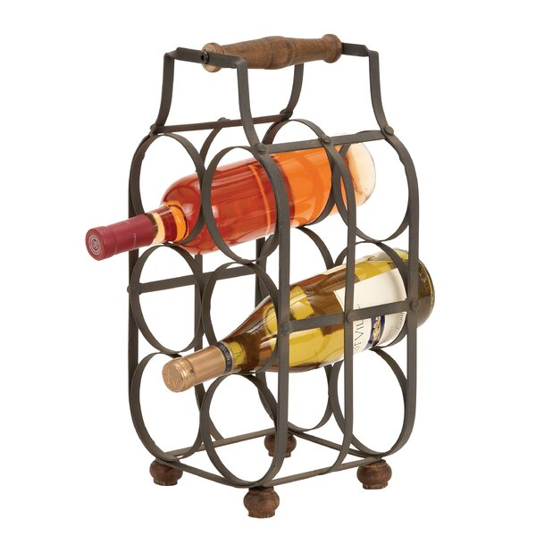 Kremmling 6 Bottle Tabletop Wine Rack by Loon Peak