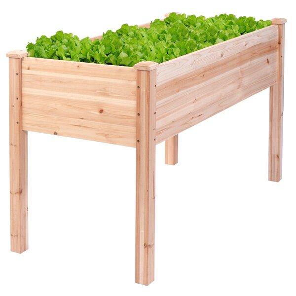 Drakeford Garden Bed Raised Wood Planter Box by Gracie Oaks