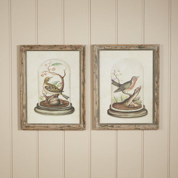 Flightless Bird 2 Piece on Wood Set by Birch Lane™