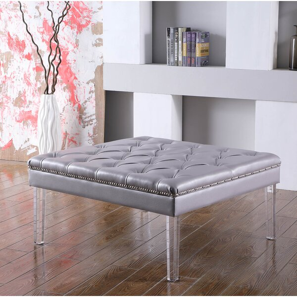 Fairhills Diamond Tufted Coffee Table by House of Hampton