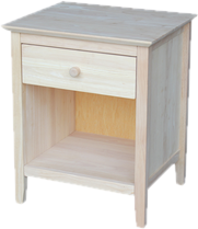 Unfinished Nightstands
